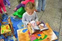 Dzieci w bibliotece 29.10.2014