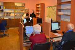 Szkolenie w bibliotece