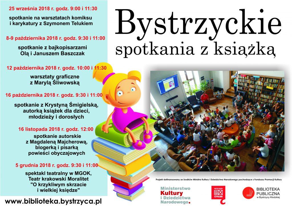 biblioteka plakat wrzesień